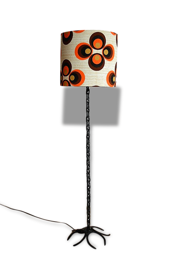 Lampadaire vintage Lucky 1970's
