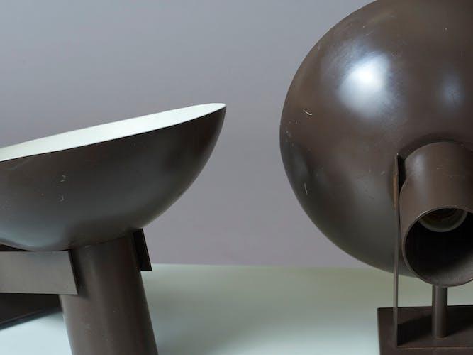 Deux appliques Philips 1950