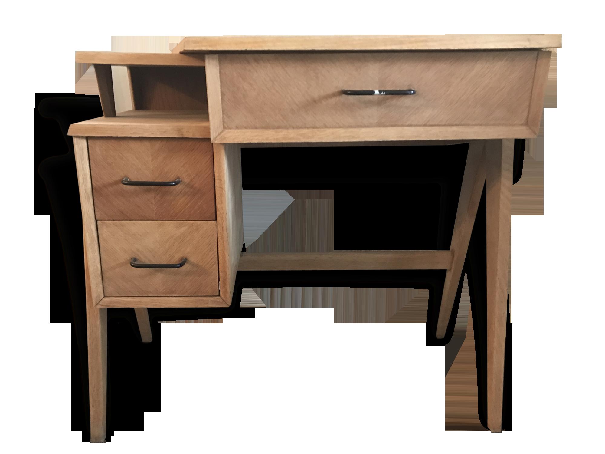 Bureau en bois de hêtre bois matériau bois couleur