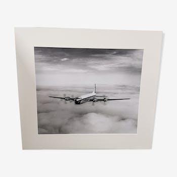 Tirage photo authentique du premier vol Britannia 212