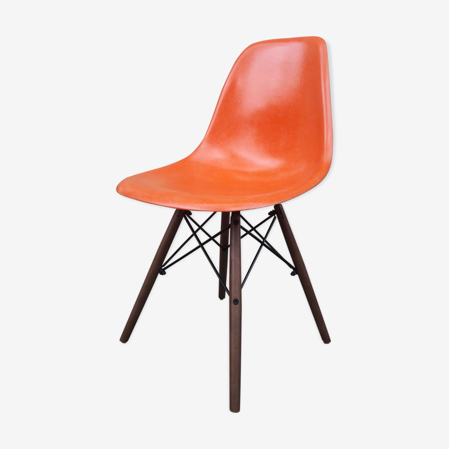 Orange for Herman Miller Eames DSW Red Chair