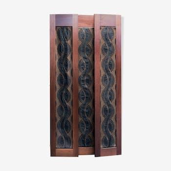 paravent ethnique art d co ou vintage d 39 occasion. Black Bedroom Furniture Sets. Home Design Ideas
