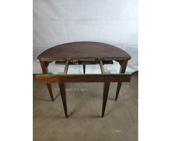 Empire-style Half Moon Table