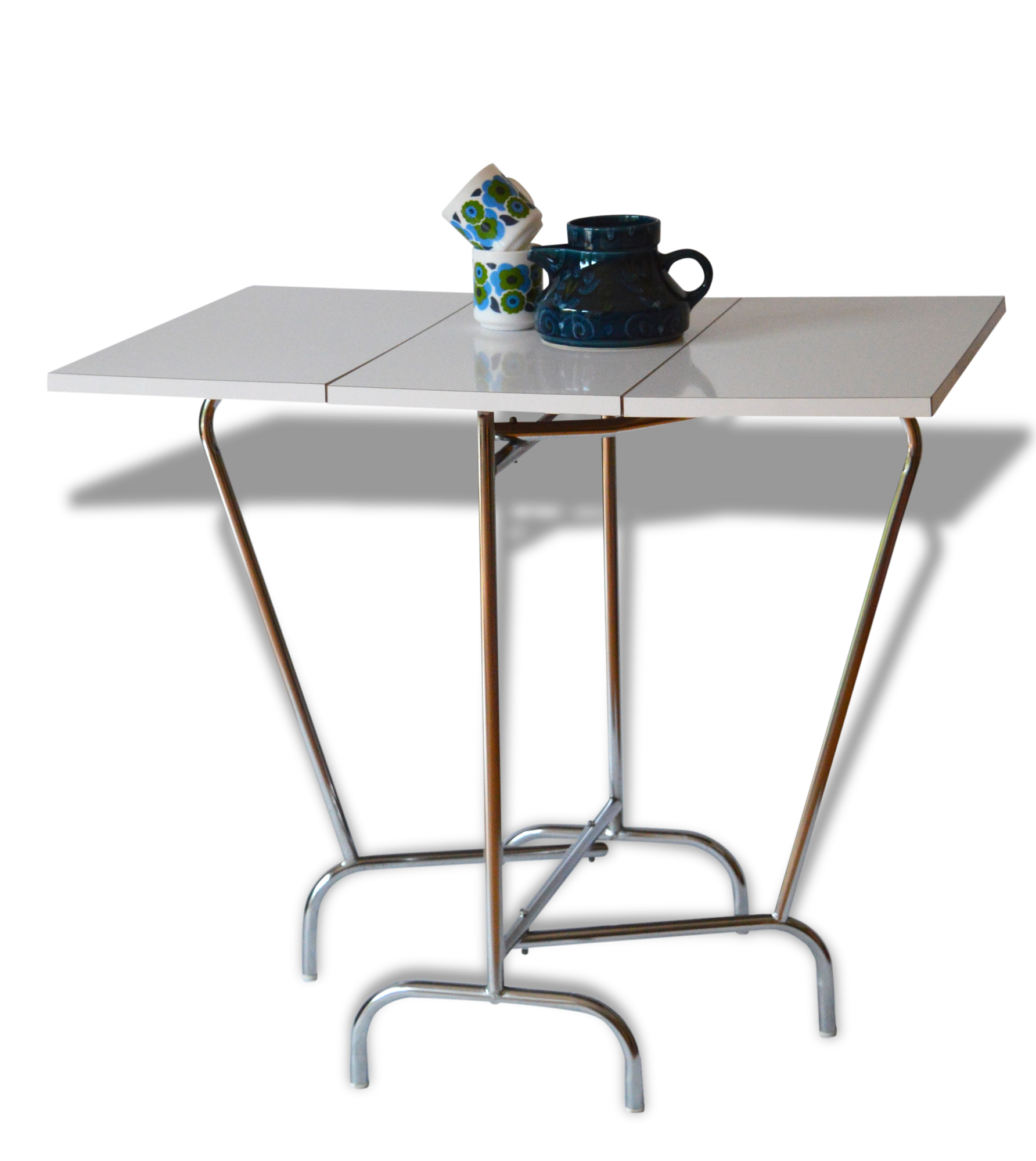 Table Pliante Formica Top Table Formica Pliante Annes With Table  # Table Pliante Style Brasserie