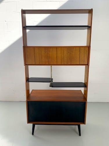 Bibliothèque ancien séparateur de pièces par G-Plan 1960
