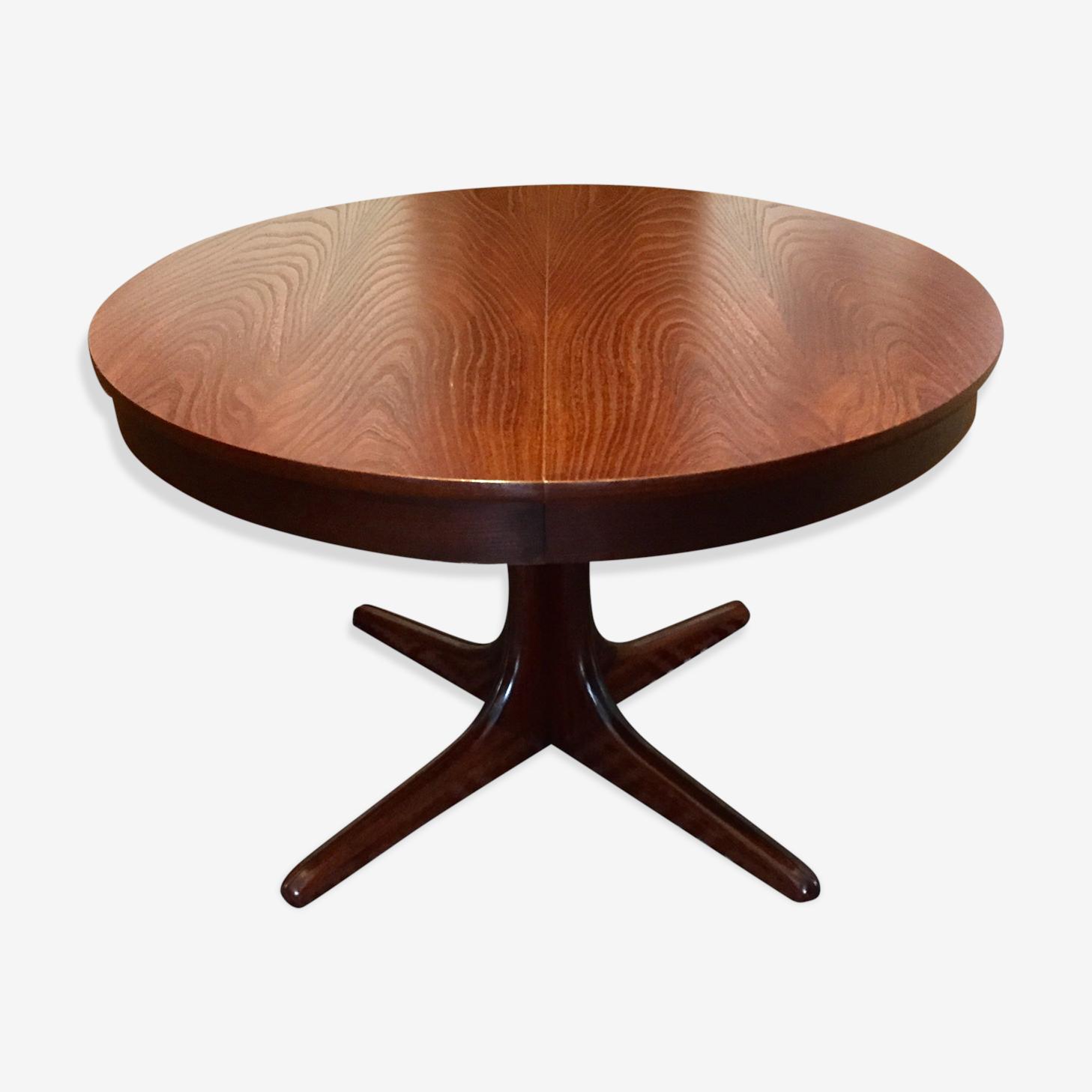 Scandinave Vintage Table Ronde Extensible