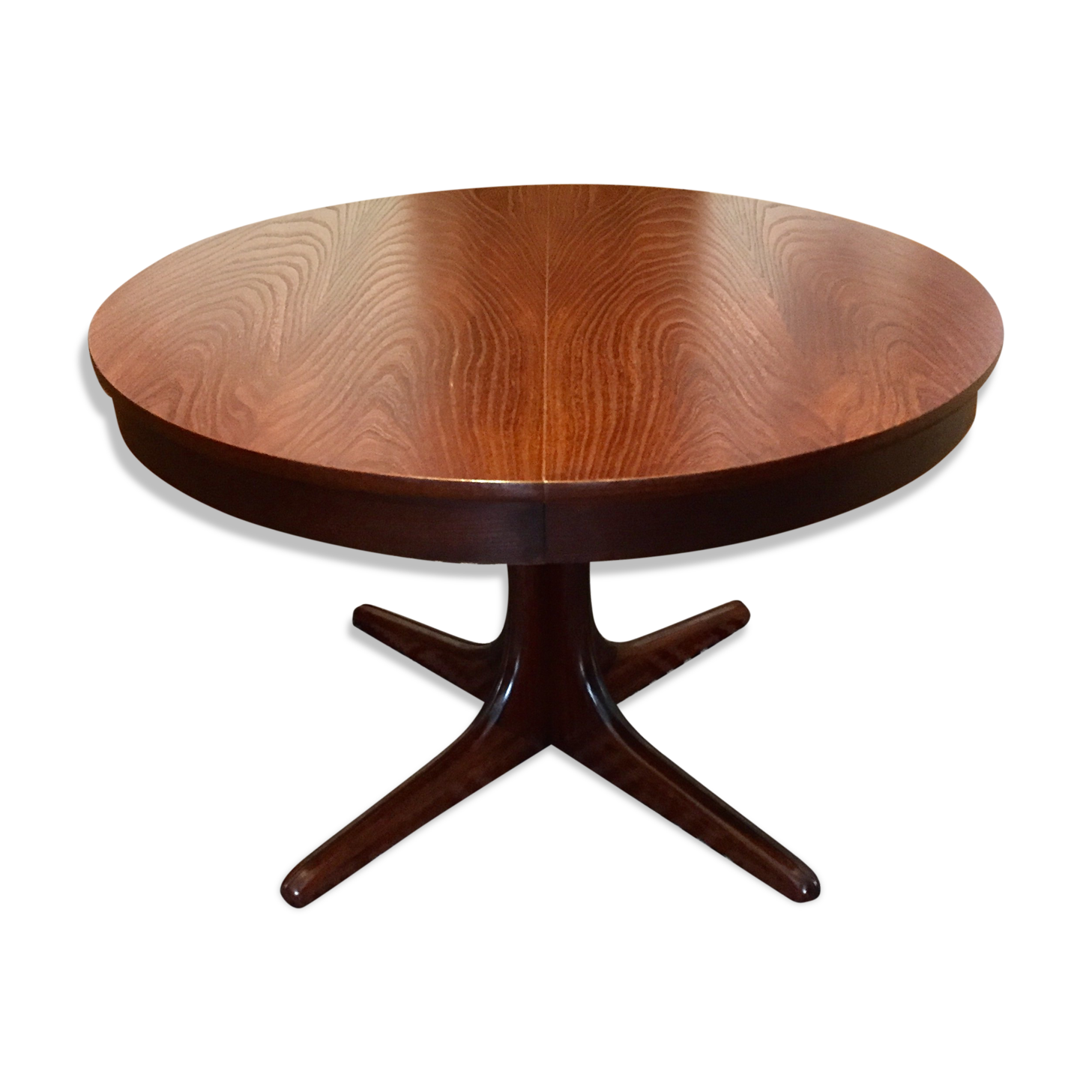 Beautiful table vintage scandinave images for Table salle a manger ronde extensible