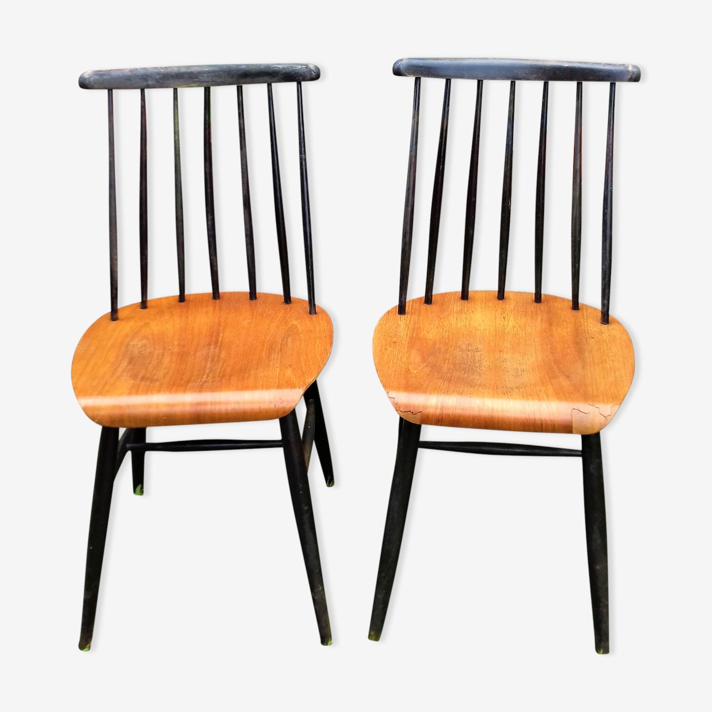 "Pair of chairs ""Fanett"" Tapiovaara"
