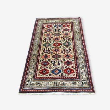 Hand made oriental rug: former Shirvan Perepedil 180 x 110 cm around 1930.