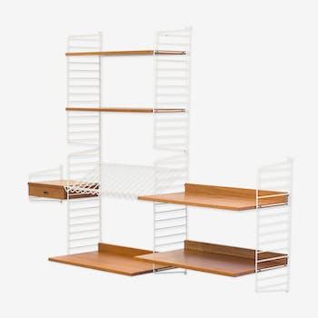 String Design AB wall unit by Nisse & Kajsa Strinning