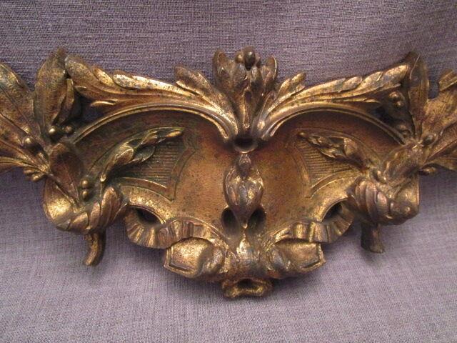 Bronze décoratif d/'ameublement ancien,fronton
