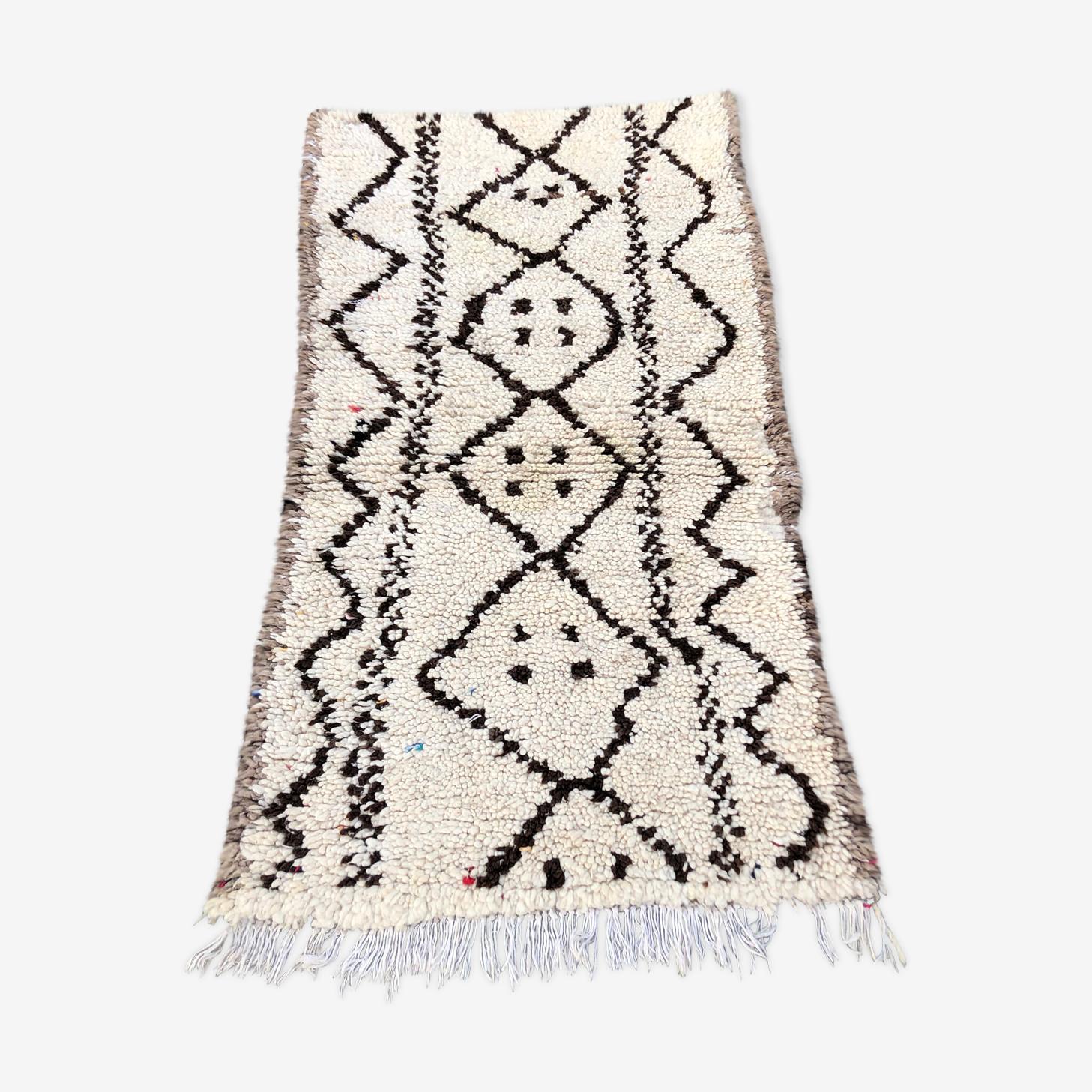 Berber beni ouarain 180 x 95 cm