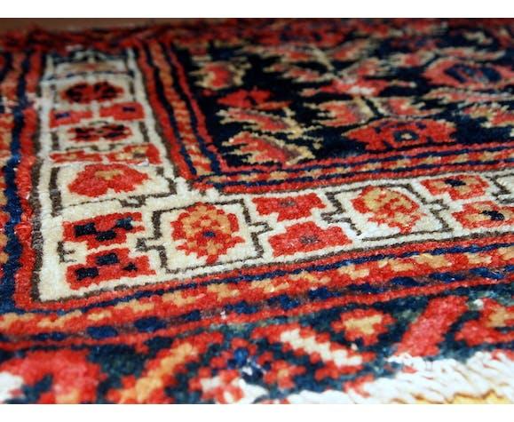 Carpet old collectible Persian malayer face bag 44cm x 55cm 1900