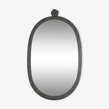Miroirs vintage et anciens d 39 occasion for Miroir fer forge