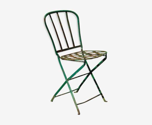 Chaise de jardin XIXeme