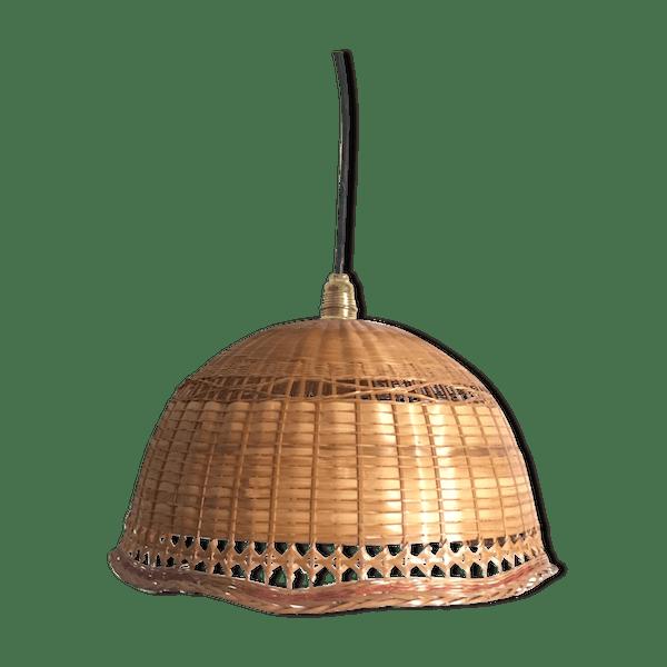 Suspension osier vintage - rotin et osier - marron - vintage - krcuZra