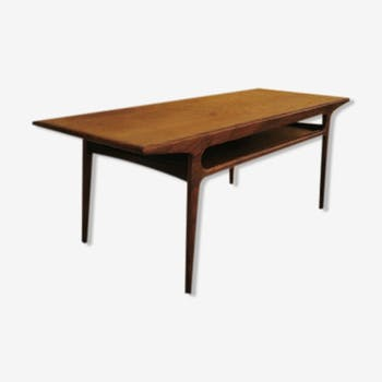 Table basse scandinave circa 1960