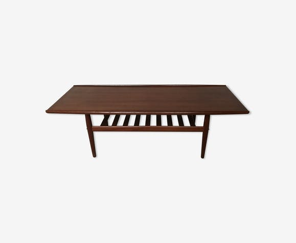 Grete Jalk coffee table for Poul Jeppesens in teak