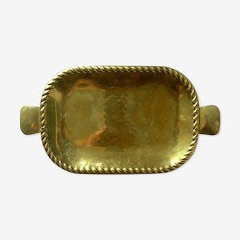Vintage Swedish Brass Tray