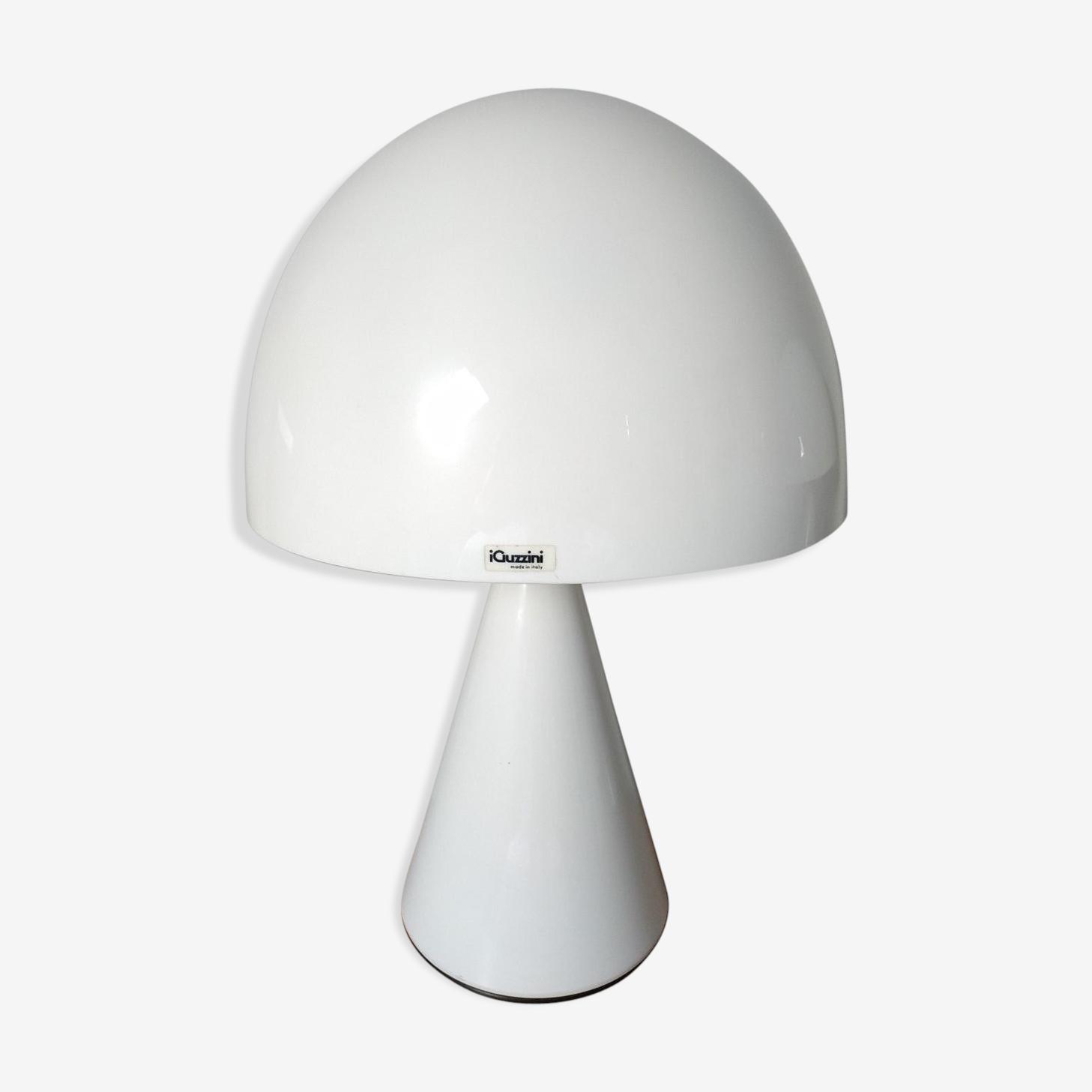 Lamp Design Guzzini 1970 Model Baobab Metal White Design Hfgsx35