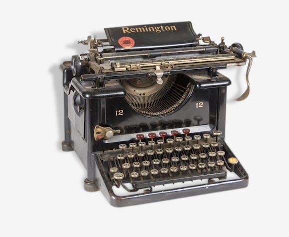machine crire remington standard 12 ann es 1930 m tal noir vintage 33107