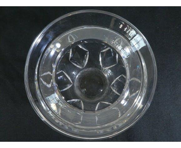 Vase en cristal taillé