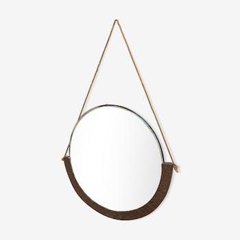Miroirs vintage et anciens d 39 occasion for Deco miroir rond