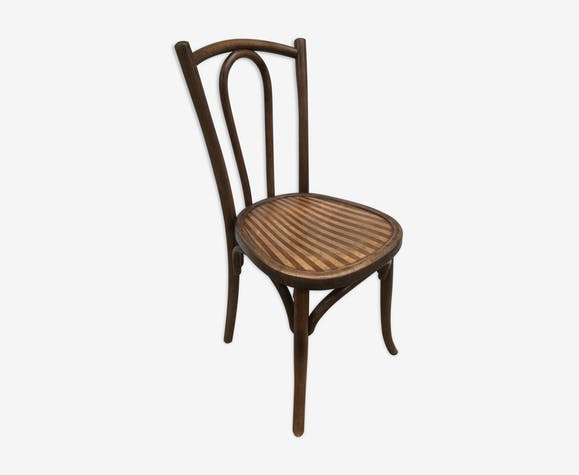 Ancienne Chaise De Bistrot Luterma Annes 60