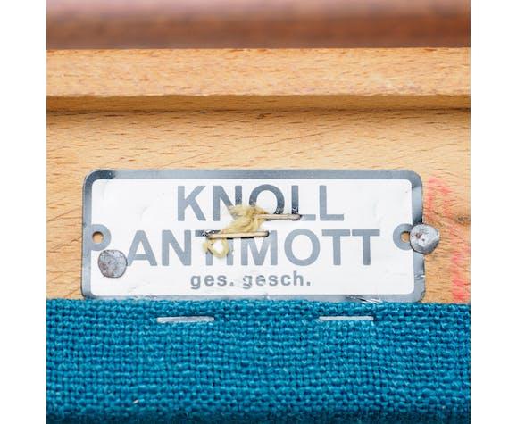 Fauteuil Knoll Antimott, bois de cerisier