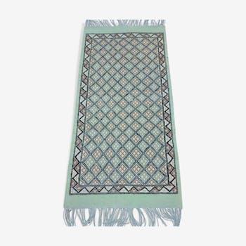 Berber carpet in wool 71 x 138 cm