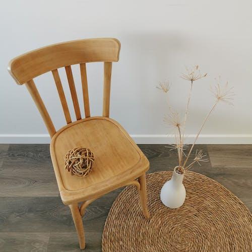 Chaise en bois courbé