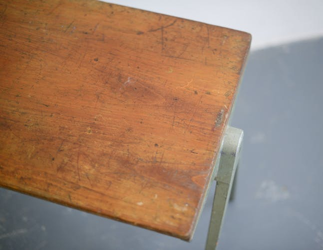 James Leonard compass coffee table circa 1940s