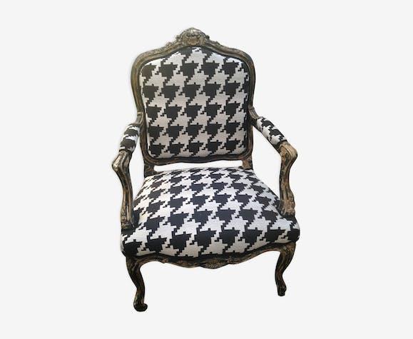 Armchair style Louis XV