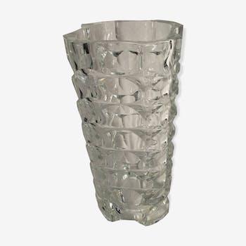 Old glass vase mold