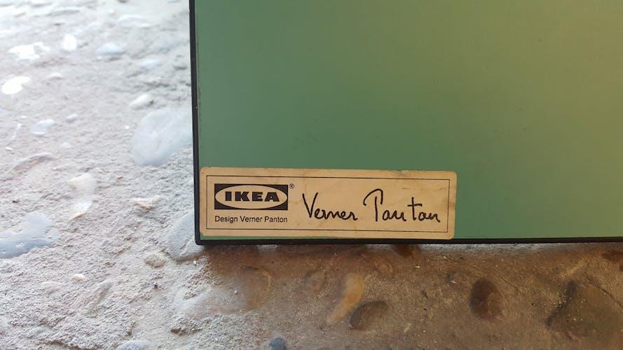 "Chaise Ikea Verner Panton ""Vilbert"""