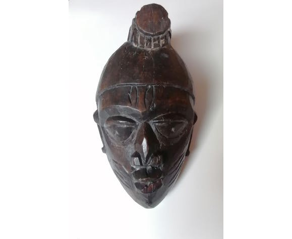 Masque bois africain