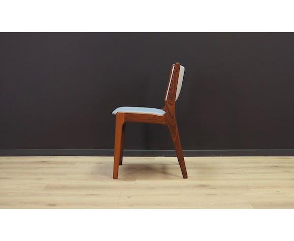 Lot de 6 chaises par par Henning Kjaernulf 60/70