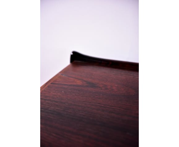Serving table on wheels in rosewood from Denmark