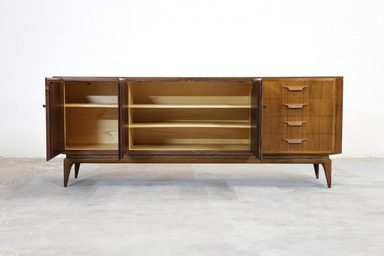 1960s Swiss Rosewood Sideboard