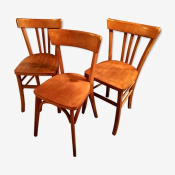 Chaises bistrot vintage luterma