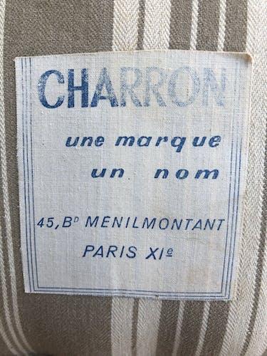 Canapé lit Charron 1950