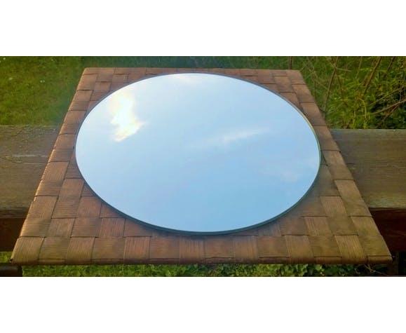 Miroir rond vintage 47x47cm