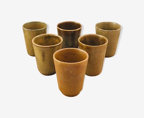 Terracotta mugs