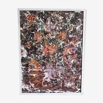 Painting, Flower Bouquet, Djino Simigaliya