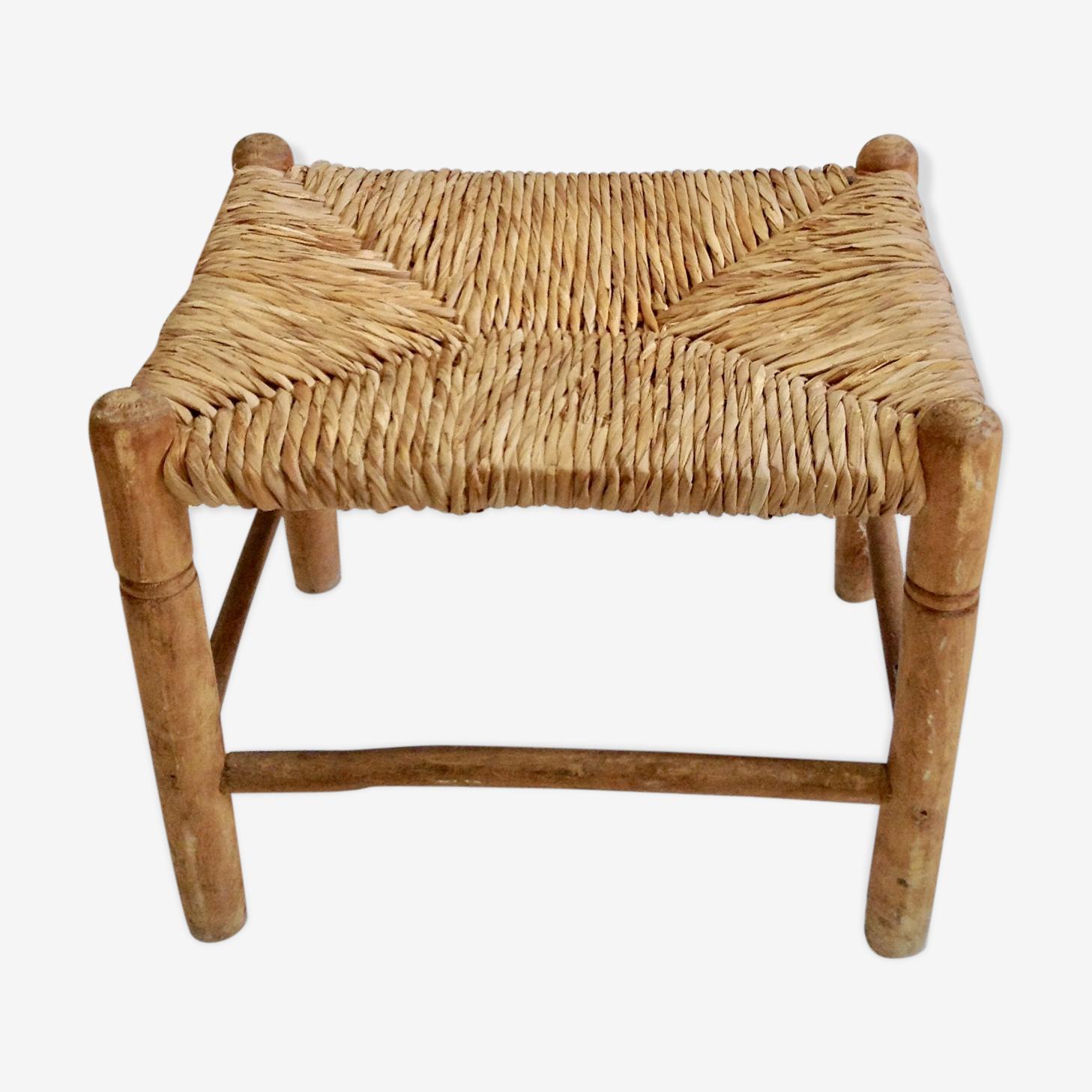Straw stool