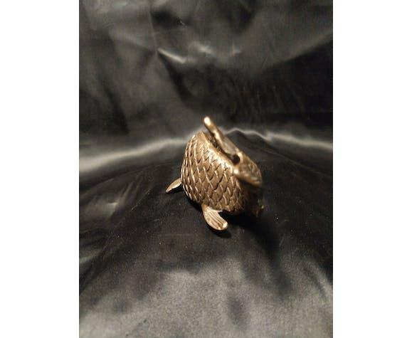 Bronze koi carp fish