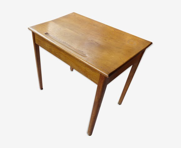 Bureau enfant avec tiroir tout en bois