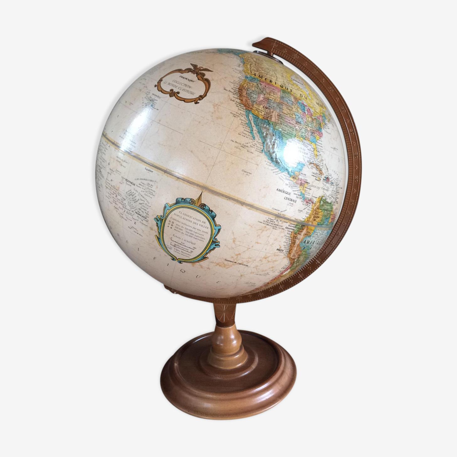 Globe terrestre Replogle en relief