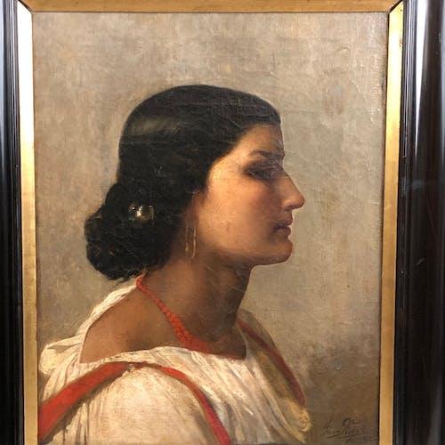 Portrait d'une jeune italienne