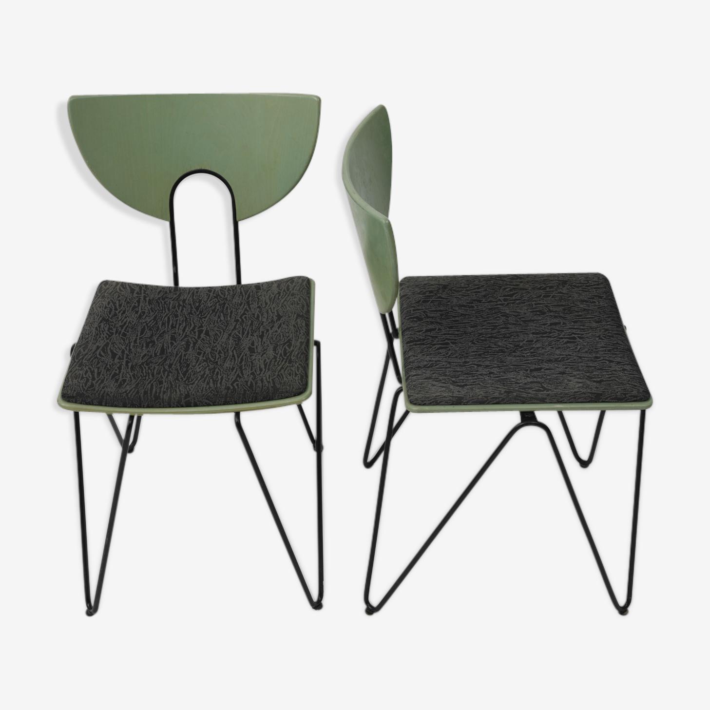 Chaises modernistes Kusch&CO de 1980